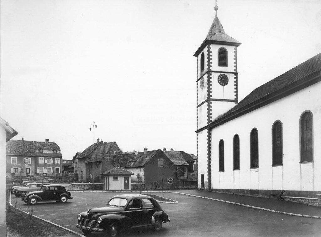 église sainte afre dans les années 1950