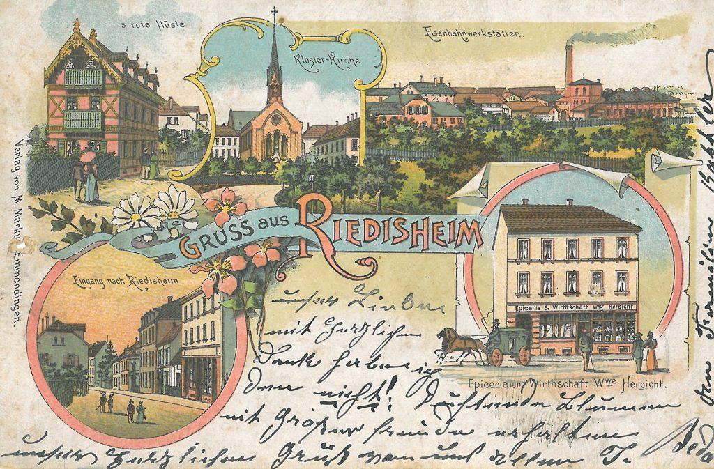 carte postale de 1899