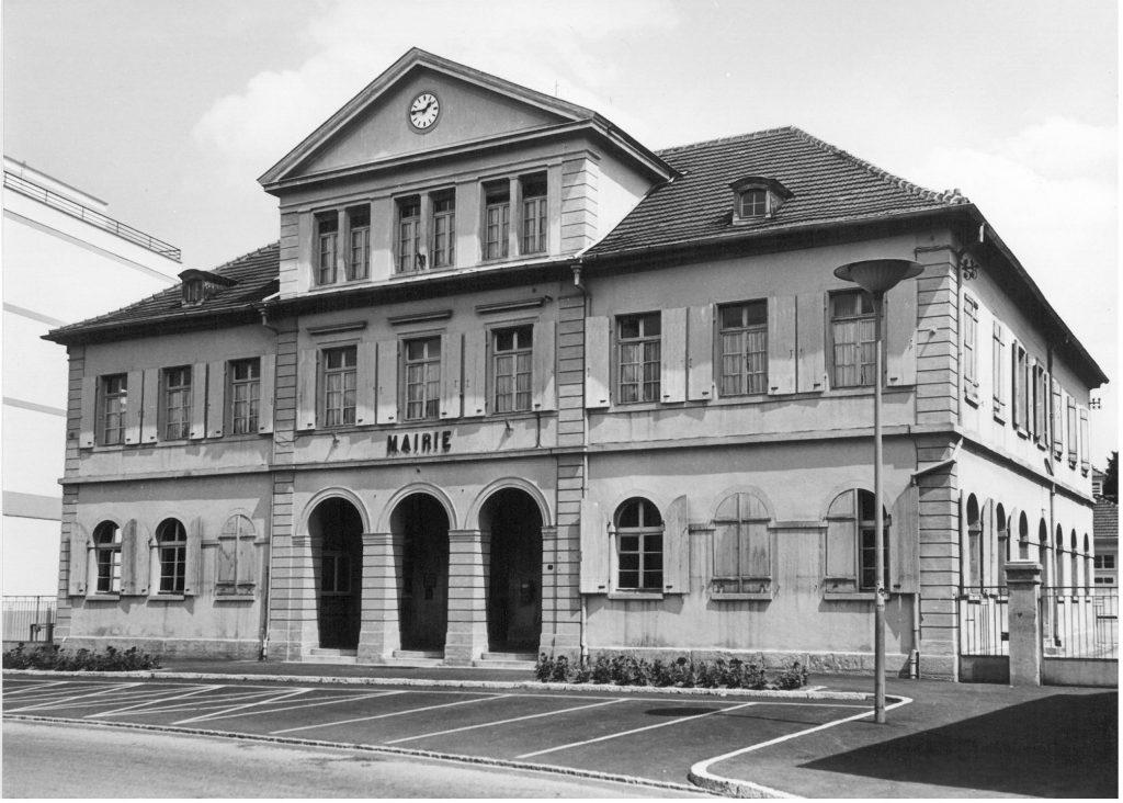 mairie dans les années 1960