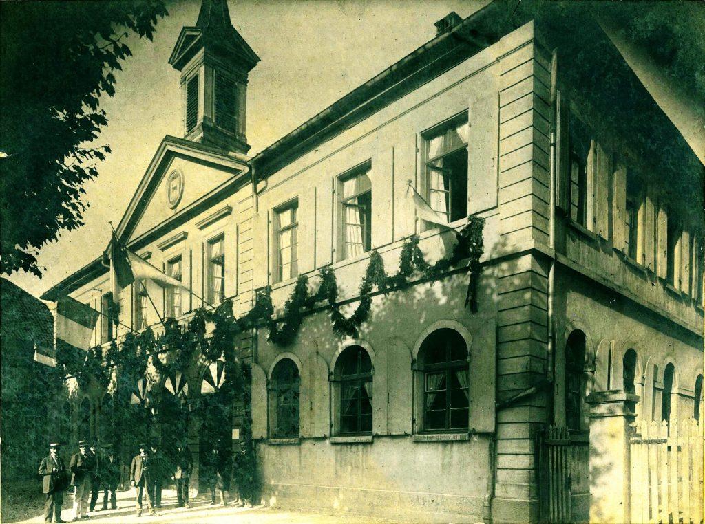 mairie de riedisheim en 1919