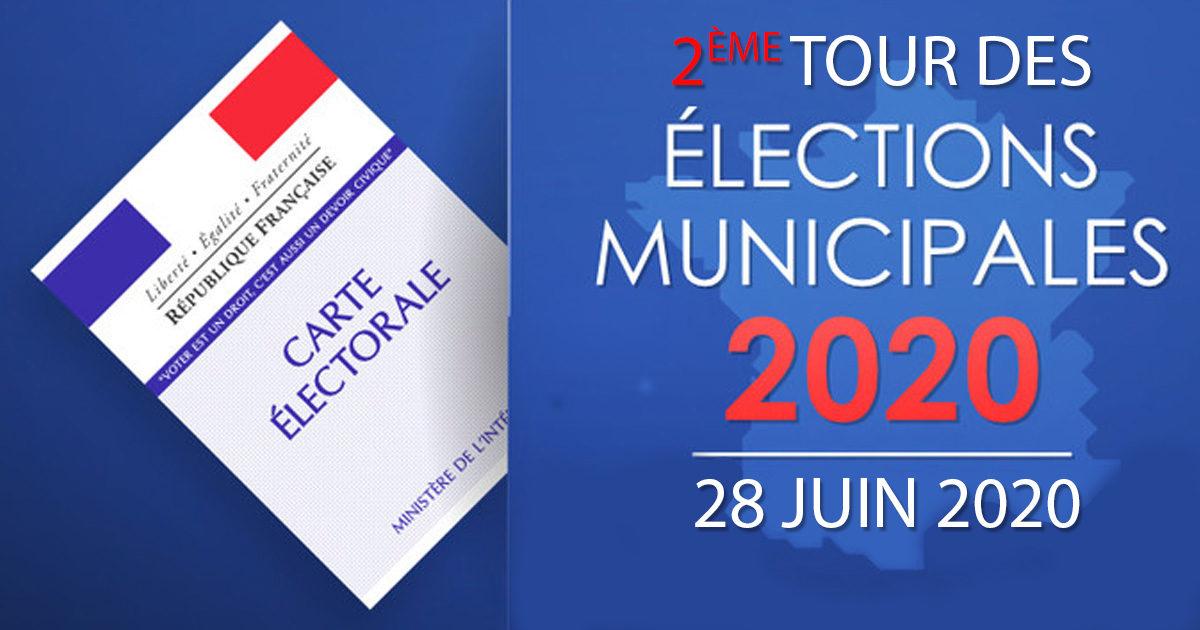 Election municipale second tour 2020